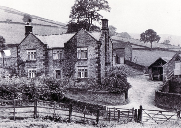 Cockbridge Farm, Ashopton, 1935 Ashopton Village – demolished in the early 1940's to make way for the Ladybower Reservoir.